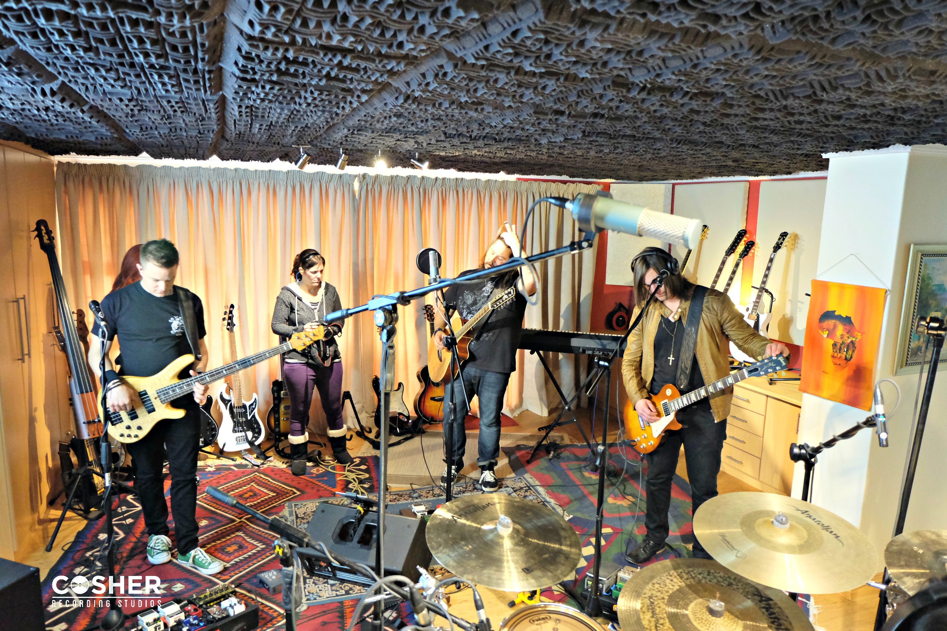 Band Recordings in Cape Town