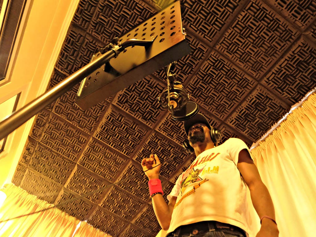 Vocal Booth Cosher Recording Studios