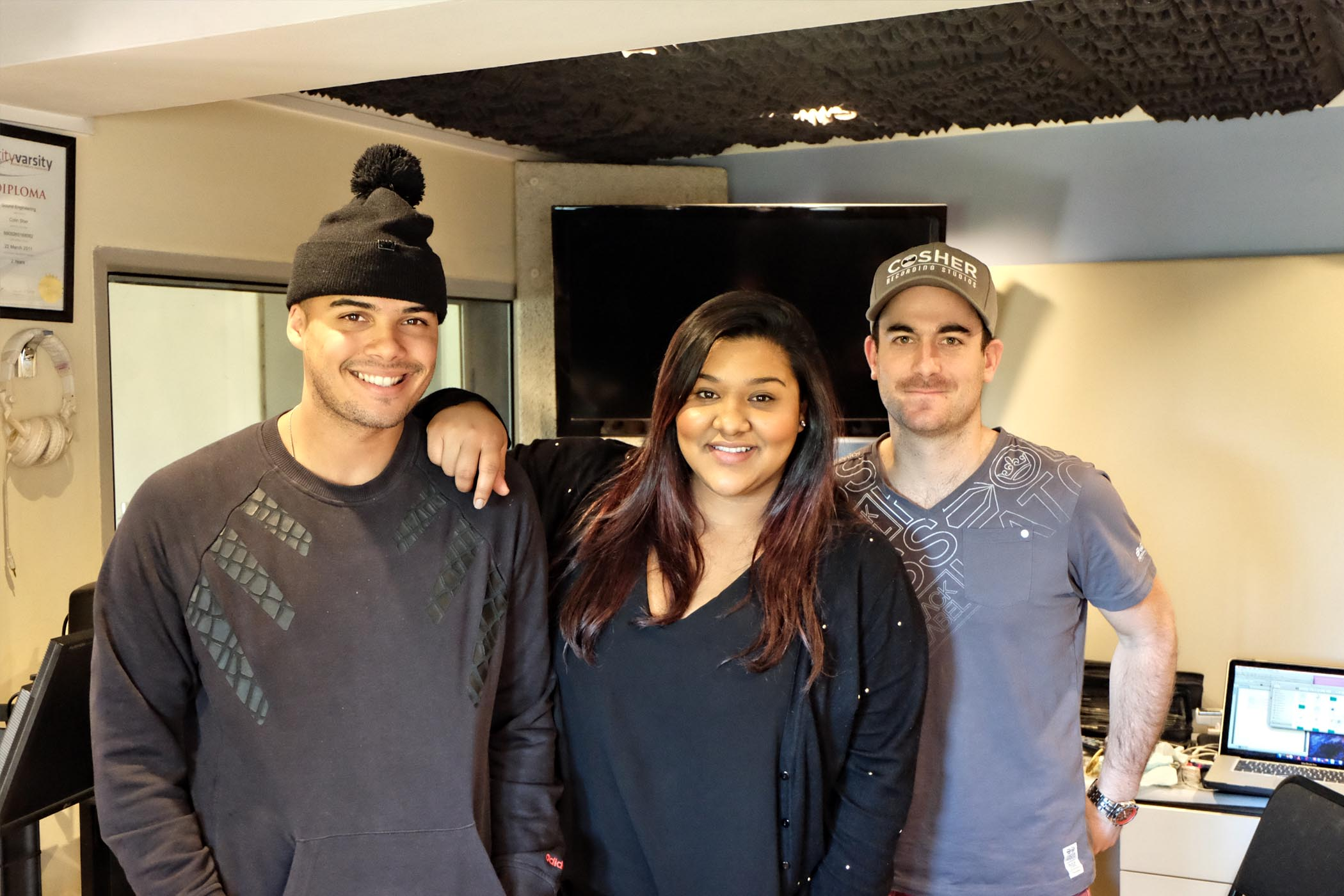 Jimmy Nevis at Cosher Recording Studios