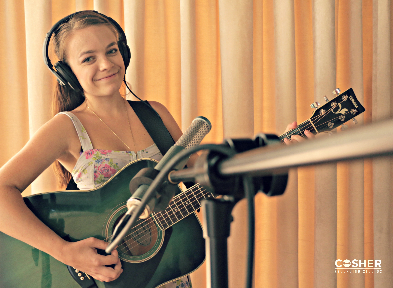 Amy Tjasink's Debut Album at Cosher Studios
