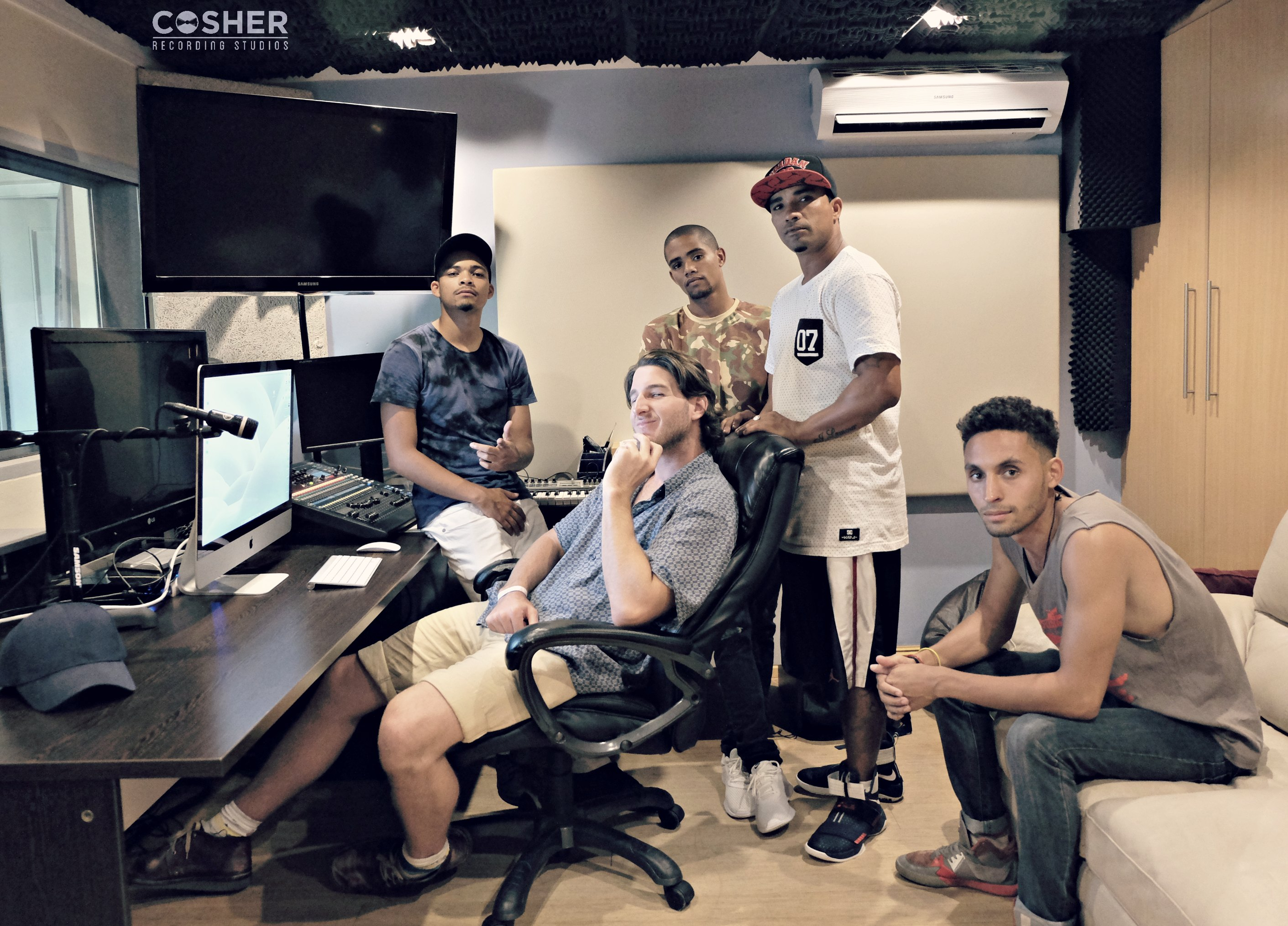 Cape Grind Records at Cosher Recording Studios