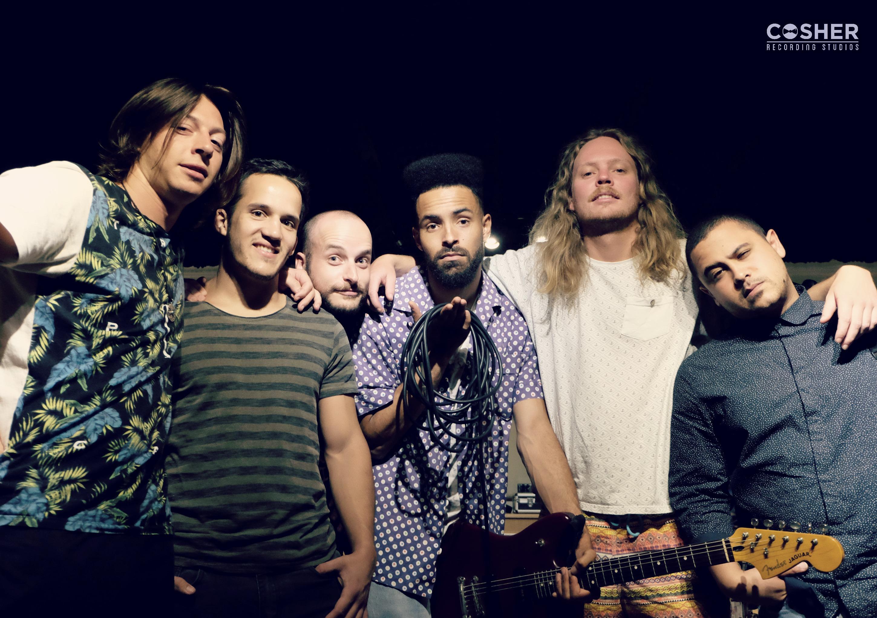 Grassy Spark Explain the Lyrics to 'Feel it' at Cosher Recording Studios