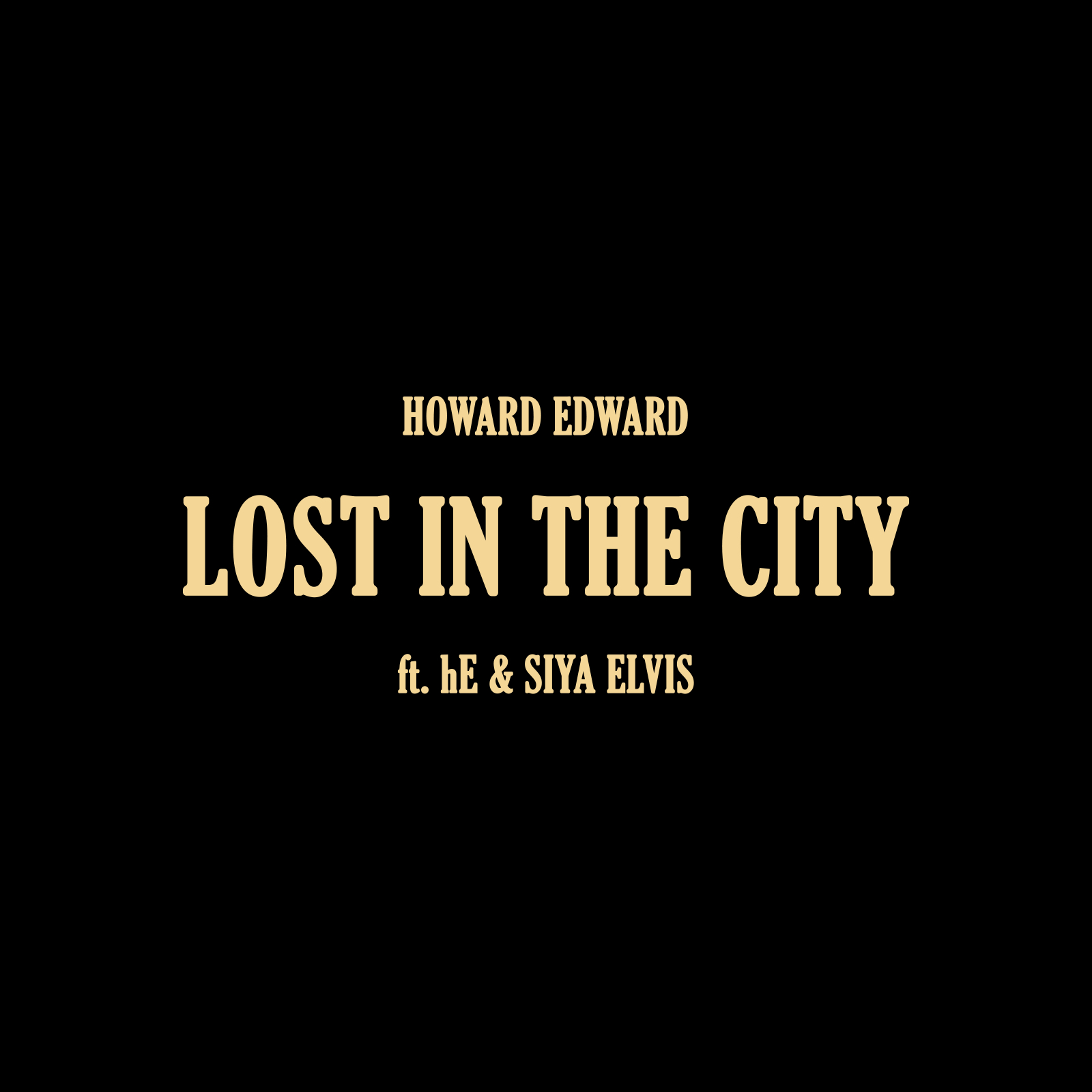 Howard Edward's Latest Single – Lost in the City