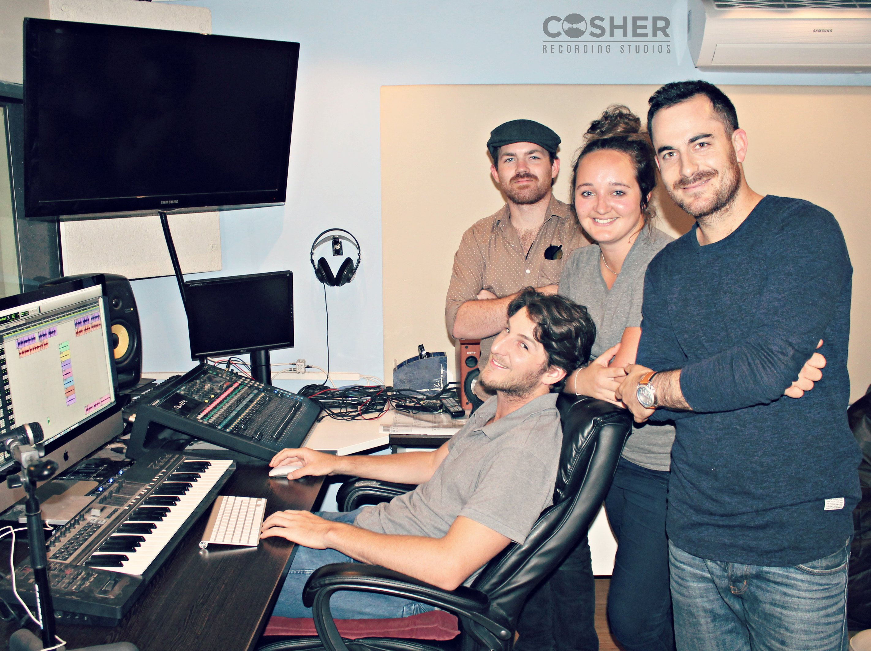Lize Mynhardt's Debut Single with Producer Cosher