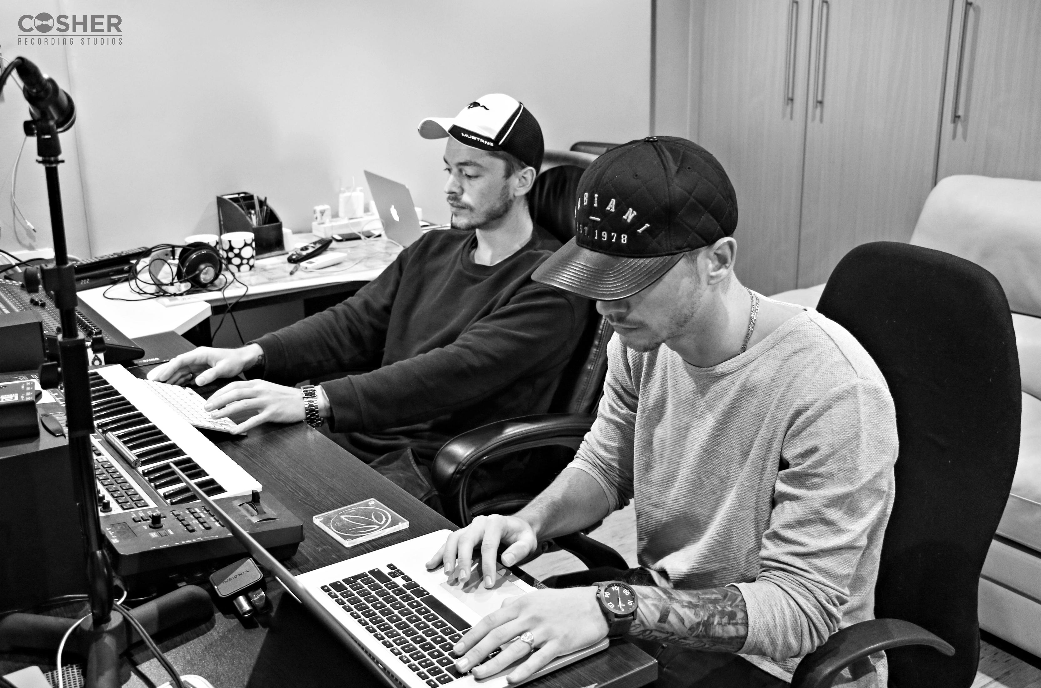Locnville recording at Cosher Studios