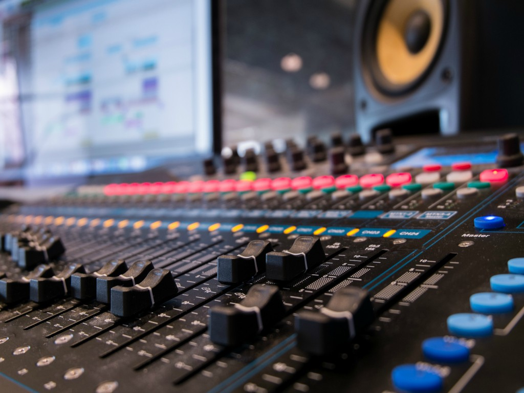 Control Room Cosher Recording Studios