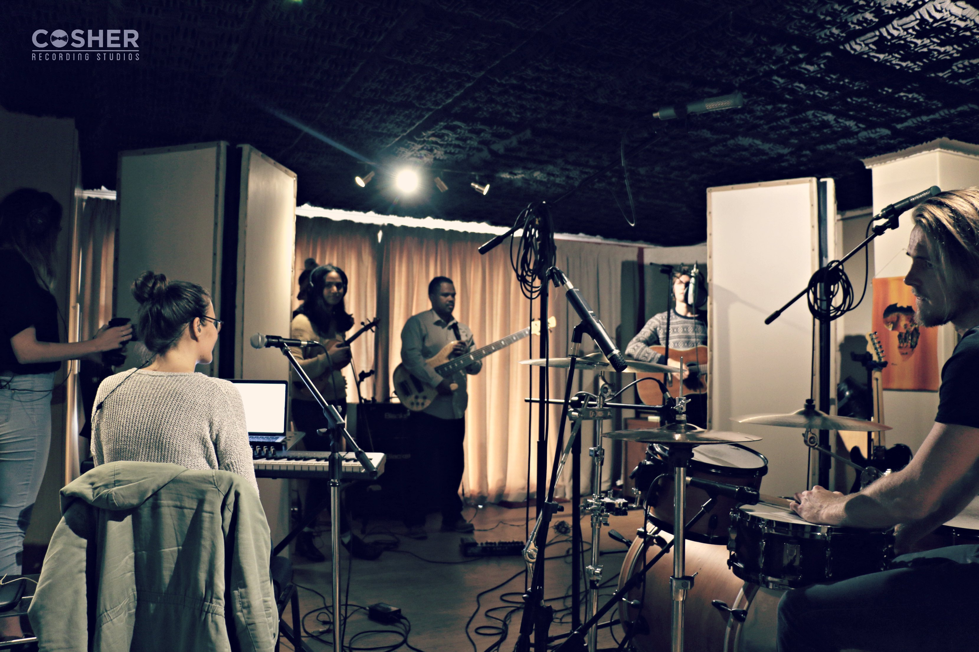 Oddo Bam at Cosher Recording Studios