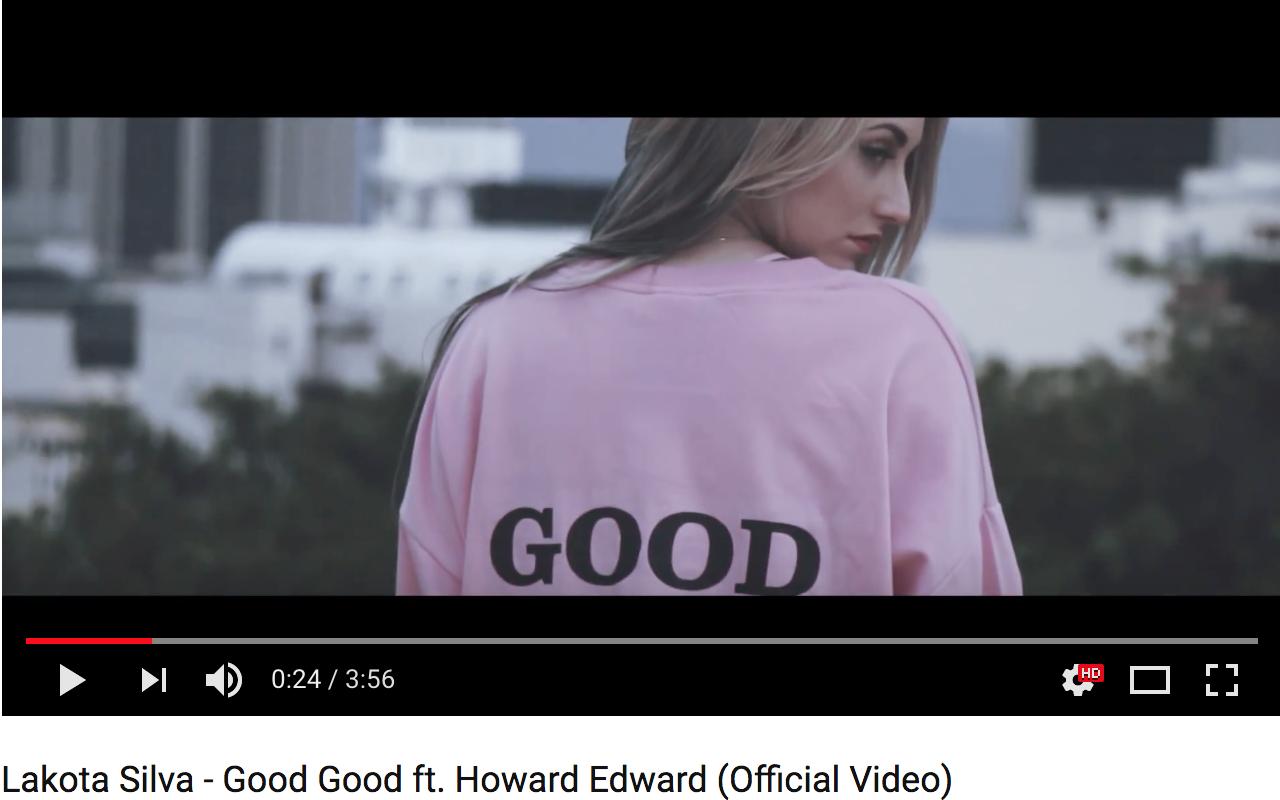 Lakota Silva Releases 'Good Good' Music Video