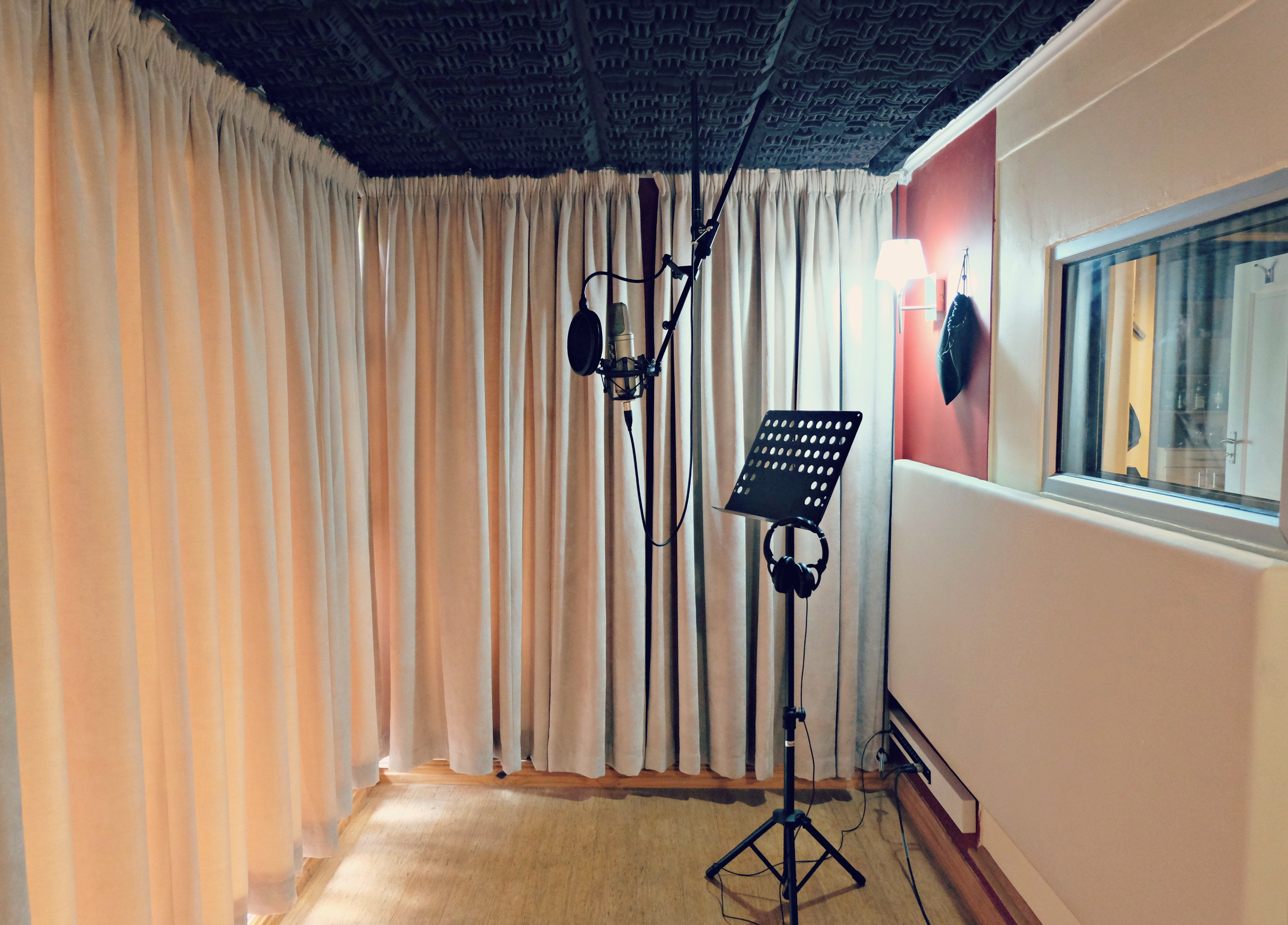 SAVOA 'Be Heard' Voice Over Booth Camp at Cosher Studios
