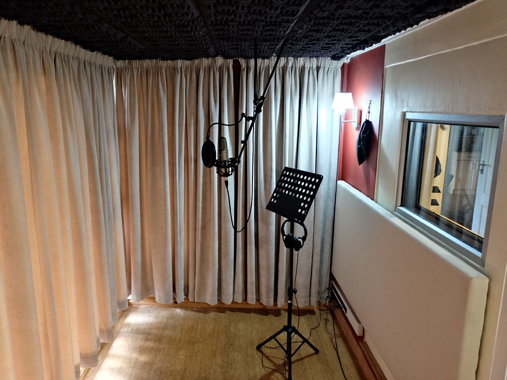 Acoustic Curtains For Studio Recording : Vocal booth cosher recording studios